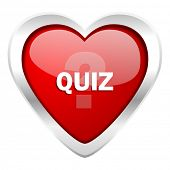 picture of quiz  - quiz valentine icon 