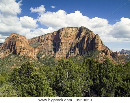 Timbertop Mountain, Zion National Park, Utah
