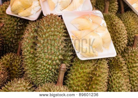 Durian On Market