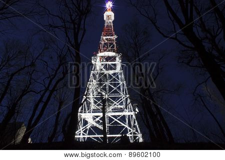 Broadcast Tower In Lviv