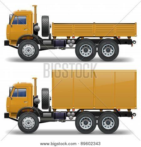 Vector trucks set 1