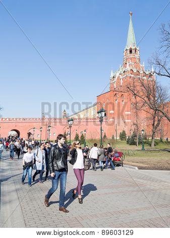 Alexandrovsky Garden - Tourist In Moscow