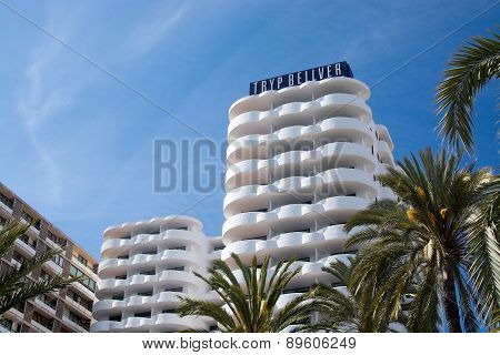 Tryp hotel on the Paseo Maritimo