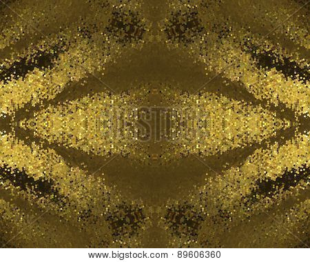 Abstract Rich Gold Background. Element For Design. Template For Design.