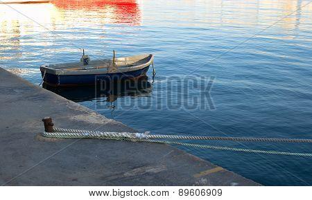 Malta, Sliema, Fishing Boat