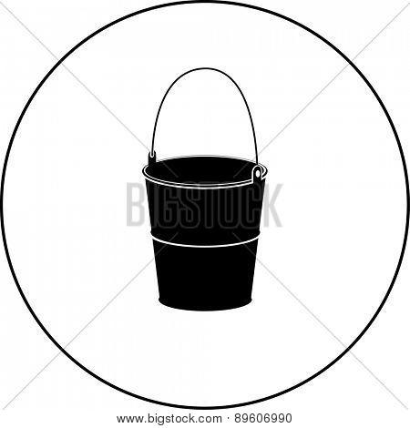 bucket symbol