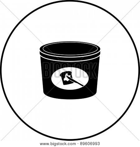 butter bottle symbol