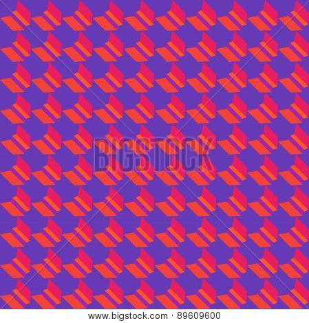 Colorful Geometric Flat Seamless Pattern. Background Vector Illustration Or Geometric Mosaic Documen