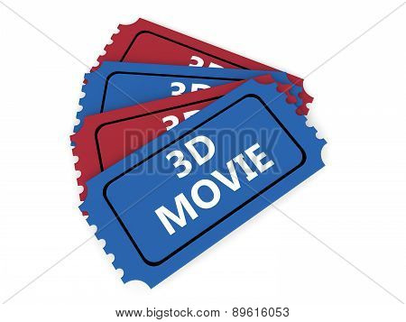 3D movie tickets