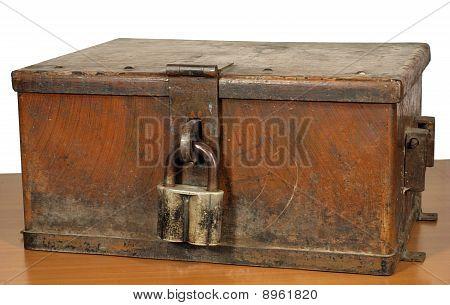 Vintage strongbox