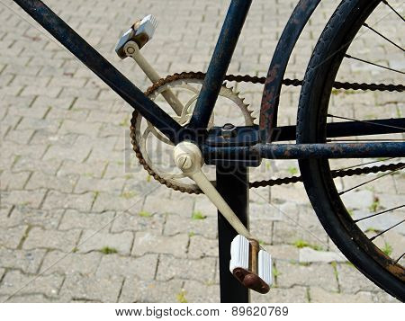Detail Of A Bicycle