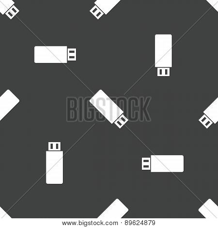 USB flash drive pattern