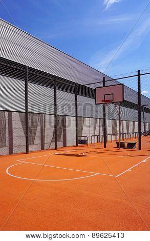 Basketball Court Sport Outdoor Public Vertical
