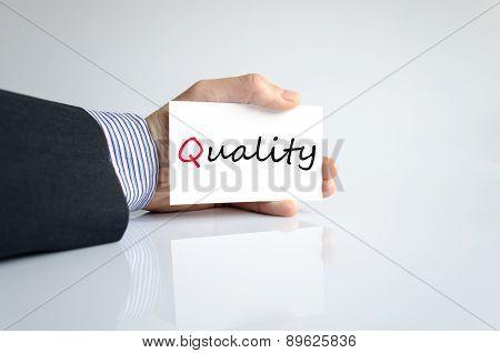Hand Writing Quality