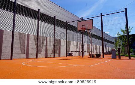 Basketball Court Outdoor Public