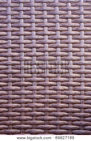 Synthetic Rattan Texture