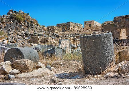 Jordan The Umm Qais Roman Ruin