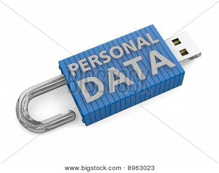 Concept For Loss Of Personal Data