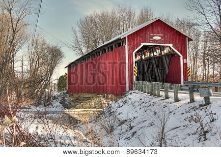 Covered bridge 40