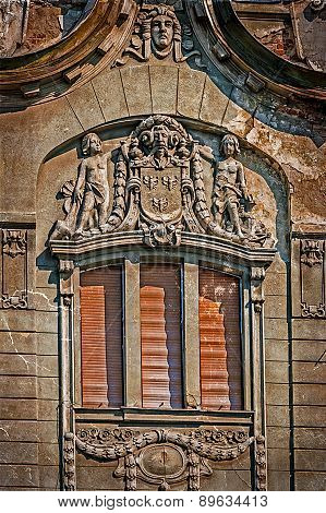 Old Postcard Of One Historical Building.timisoara, Romania 28