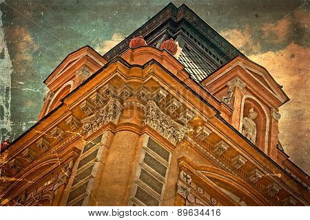 Old Postcard Of One Historical Building.timisoara, Romania 30