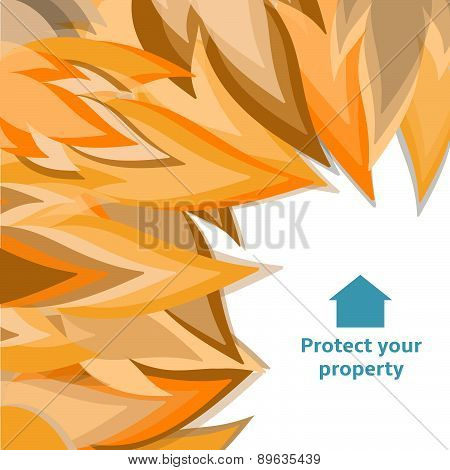 Fire Insurance Background