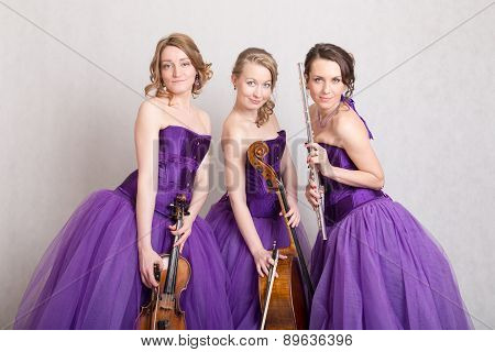 Portrait Of A Musical Trio