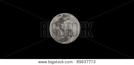 Full moon as seen on May 3rd 2015 at 20.14 hours from Bangalore, India