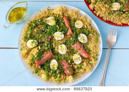 Tasty Breakfast Dish Kedgeree.