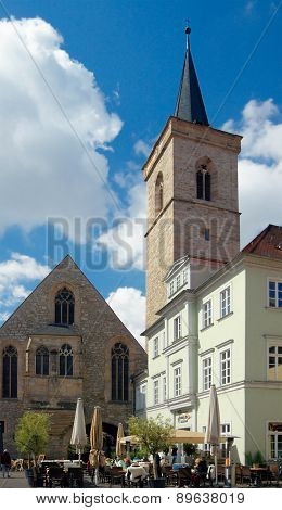 St. Aegidien Church (aegidienkirche, 1110), Erfurt, Thuringia, Germany