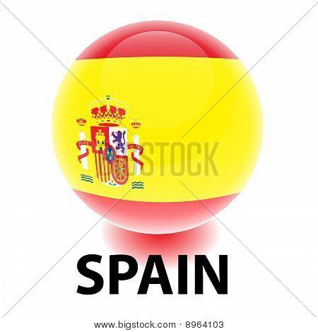 Orb Spain Flag