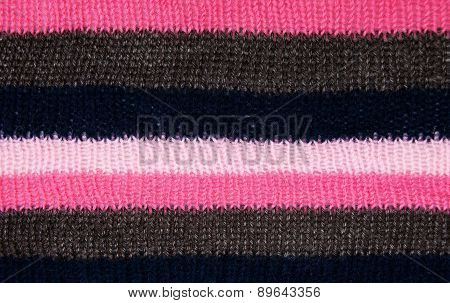 Striped Knitted Texture