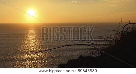 Saunton Sunset and Surf, North Devon