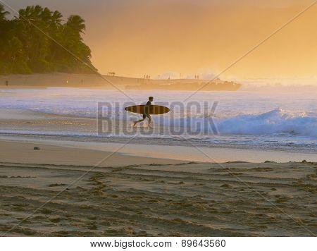 Dusk Surfer