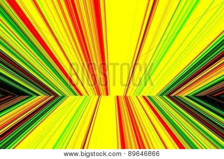 Abstract Background With Colorful Vertical Lines