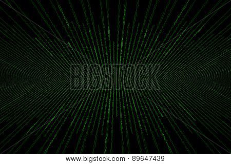 Matrix Background With The Green Binary Code