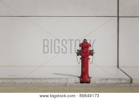 Fire Hydrant At Expo 2015 In Mialn, Italy