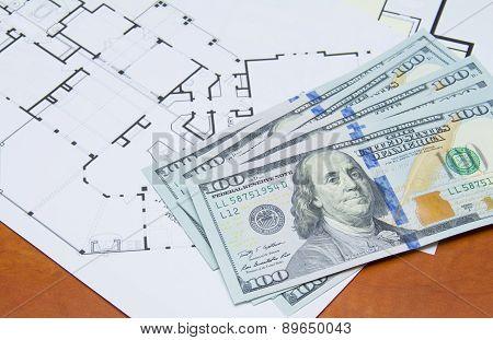 Money On House Plan