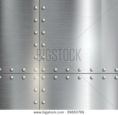 Background Of The Metal Plates