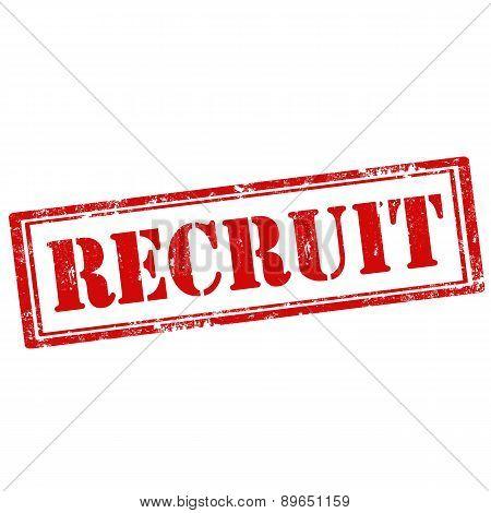Recruit-stamp