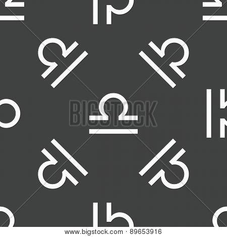Libra symbol pattern