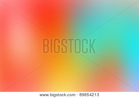 blurred colorful abstract background with nice gradient with pastel beautiful gradient
