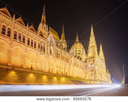 View Of Parliament, Budapest