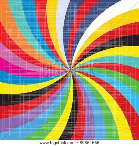 Pop Art Spiral