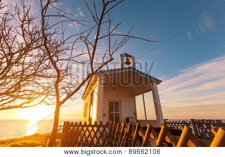 Little chapel in Greece