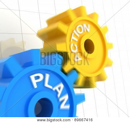 Plan and action