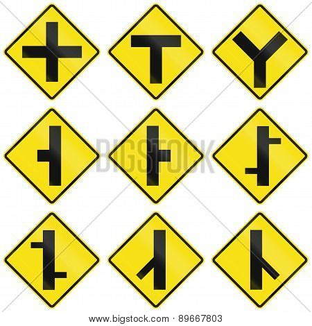 Intersection Signs In Chile