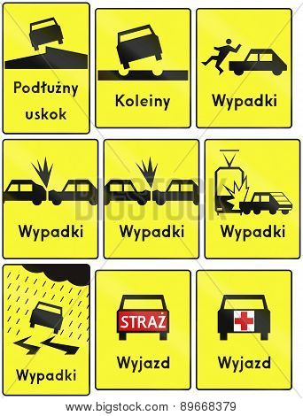 Warning Signs In Poland