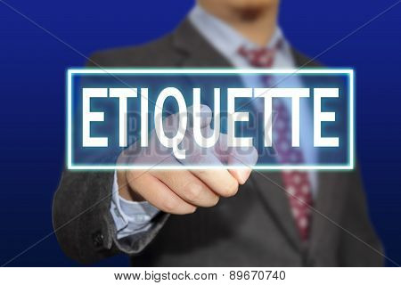 Etiquette Concept