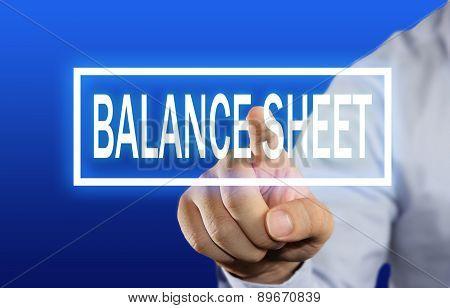 Balance Sheet Concept